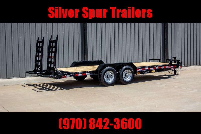 2021 Doolittle Trailer Mfg Xtreme 8222 Equipment Trailer