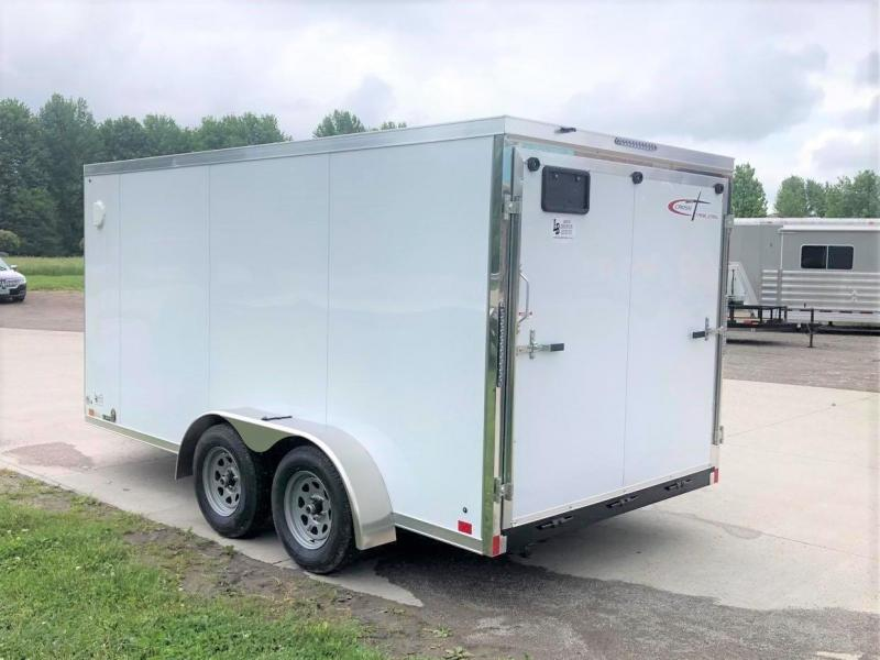 2021 Cross Trailers 7 x 14 w/ Ramp Enclosed Cargo Trailer