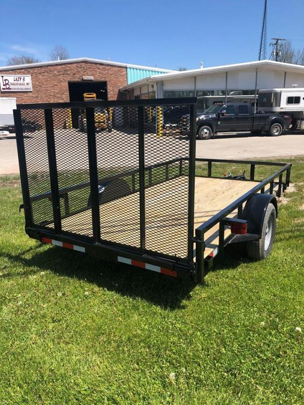 2021 Quality Trailers 12' PRO SERIES Utility Trailer