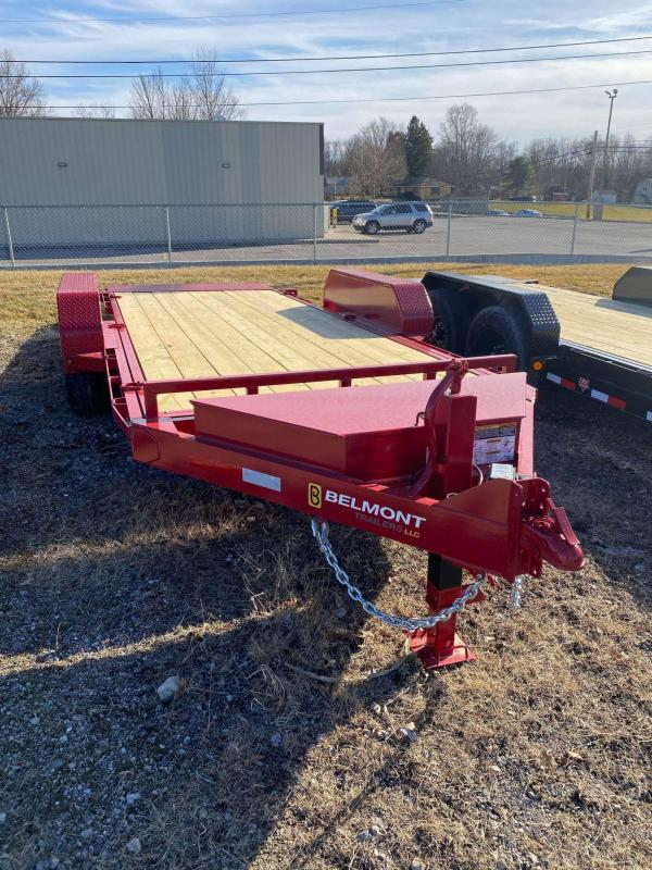 2021 Belmont 18' Tilt Equipment Trailer