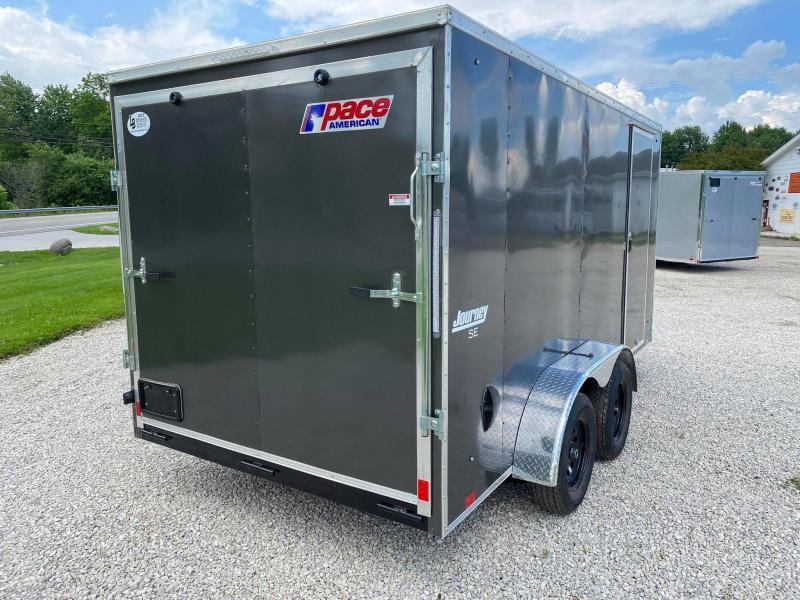 2021 Pace American 7x14 w/ Ramp Enclosed Cargo Trailer