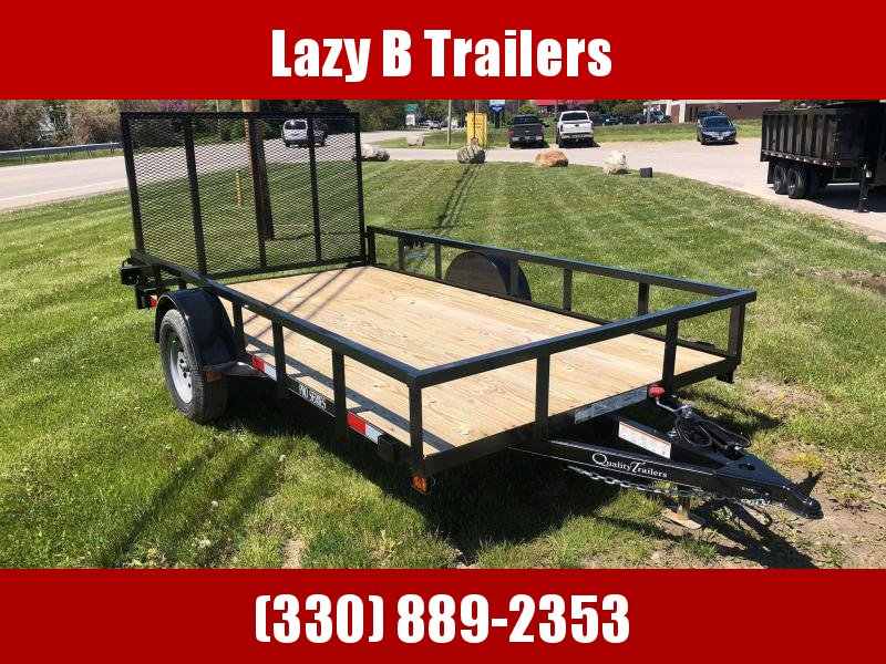 2021 Quality Trailers 10' PRO Series Utility Trailer