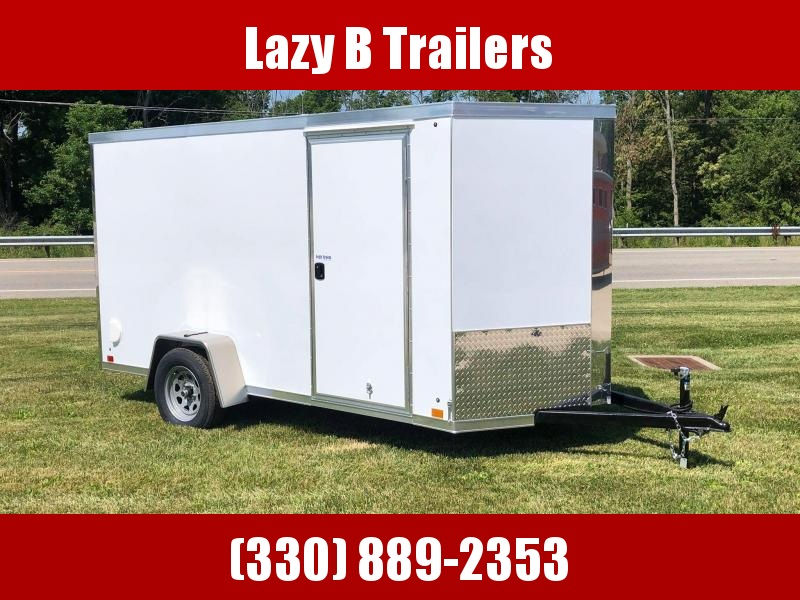 2021 Cross Trailers 6 x 12 w/ Ramp Enclosed Cargo Trailer