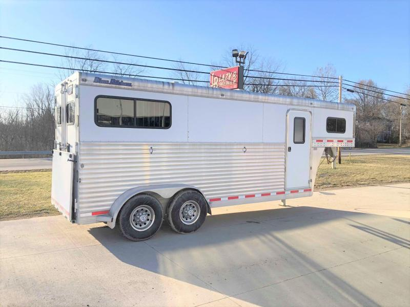 2010 Blue Ribbon Trailers 2 Horse Straight Load Horse Trailer