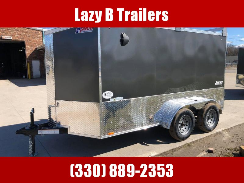 2021 Pace American 6 x 12 w/ Ladder Racks Enclosed Cargo Trailer