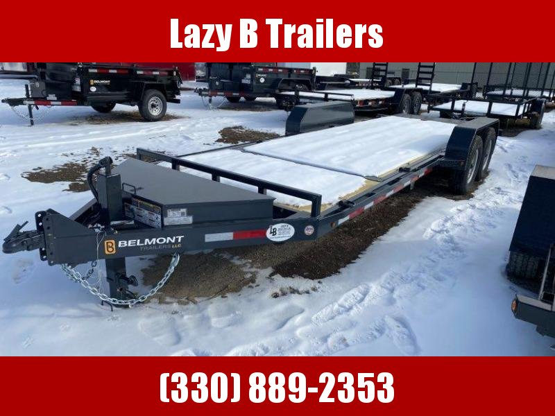 2021 Belmont 22' TILT Equipment Trailer