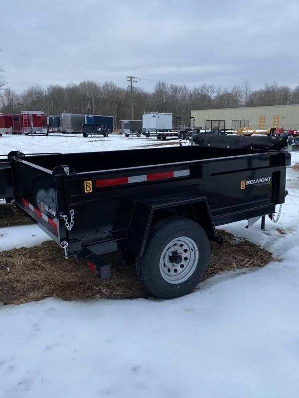 2021 Belmont 8' Single Axle Dump Trailer