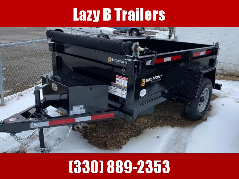2021 Belmont 8' Single Axle Dump Trailer