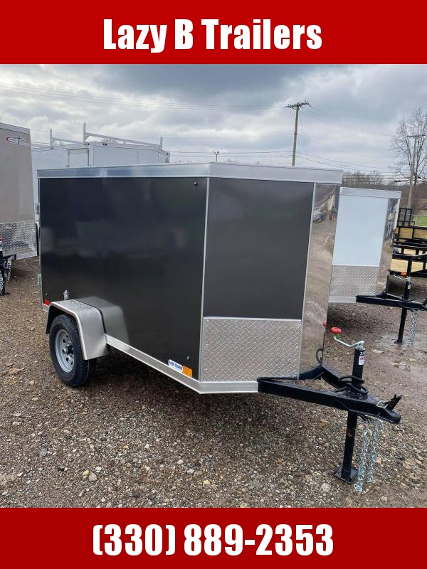 2021 Cross Trailers 4 x 8 Enclosed Cargo Trailer