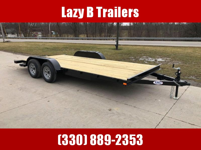 2021 AMO 18' OPEN Car / Racing Trailer