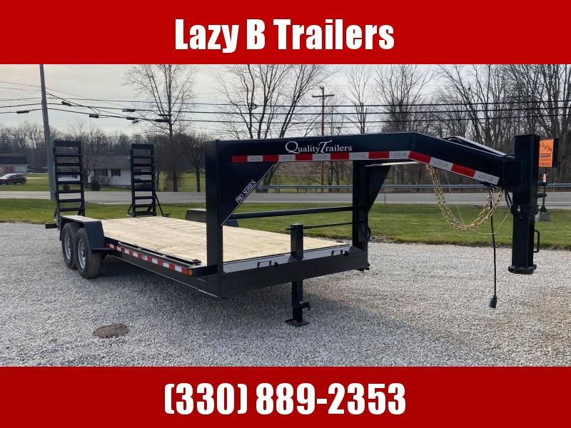 2021 Quality Trailers 20' Gooseneck Equipment Trailer