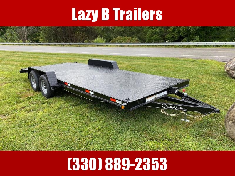 2021 Quality Trailers 18' Steel Deck Car / Racing Trailer