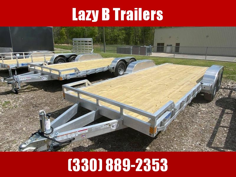 2021 Mission 20' Open Car / Racing Trailer