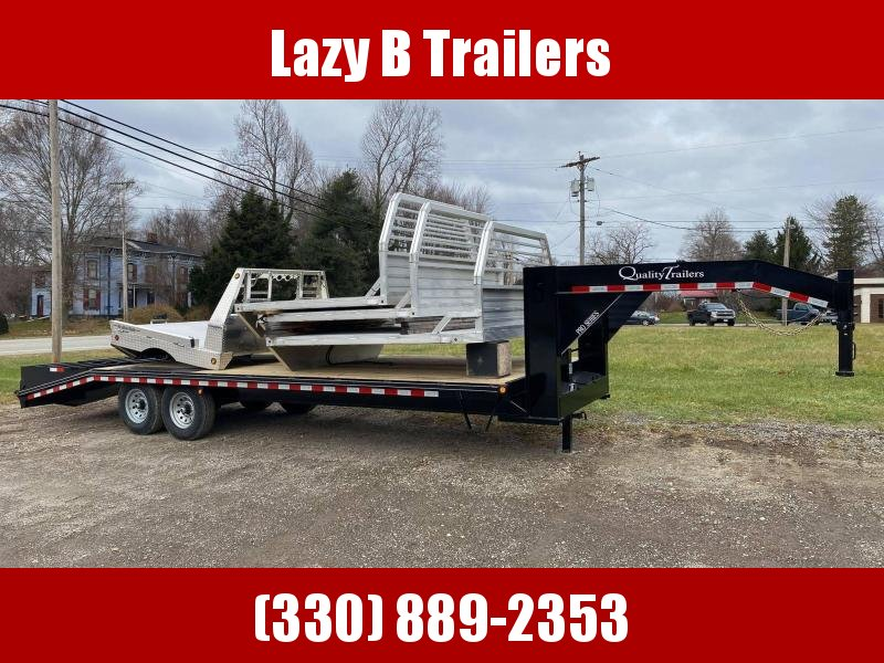 2021 Quality Trailers 25' PRO SERIES GOOSENECK Equipment Trailer