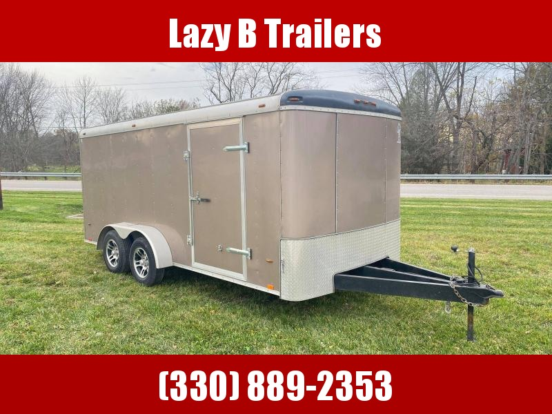 2018 Atlas Specialty Trailers 7x16 Enclosed Cargo Trailer
