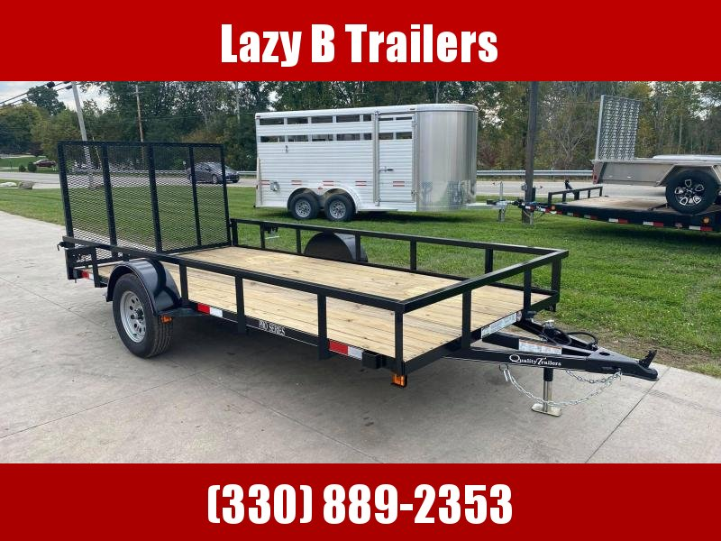 2022 Quality Trailers 14' PRO Series Utility Trailer