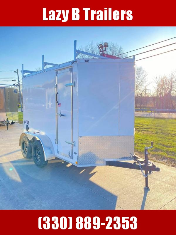 2021 Rhino Trailers 6x10 Enclosed Cargo Trailer
