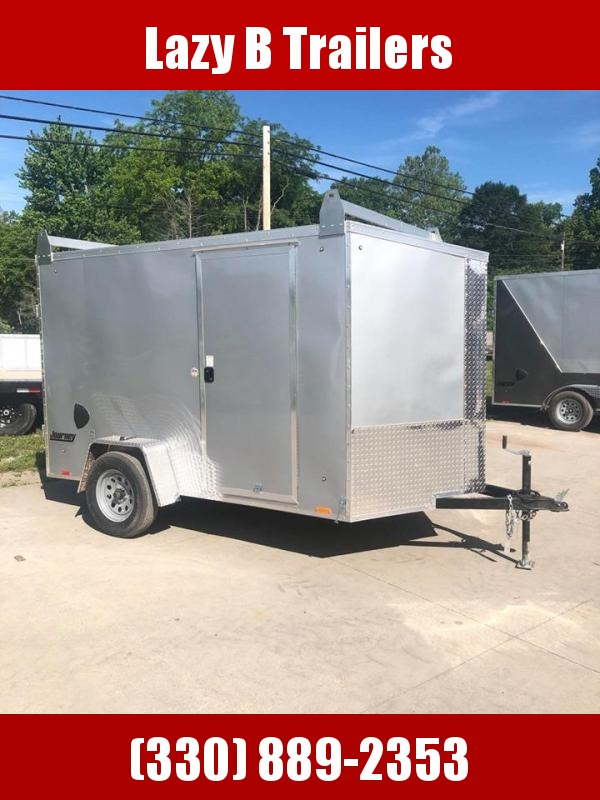 2021 Pace American 6 x 10 w/ Ladder Racks Enclosed Cargo Trailer
