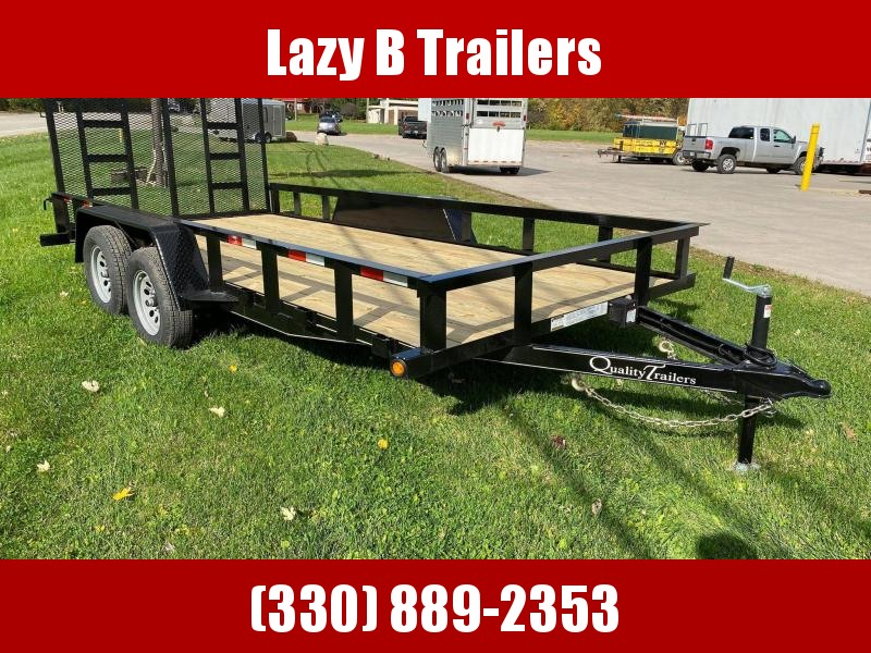 2021 Quality Trailers 16' LANDSCAPE Utility Trailer