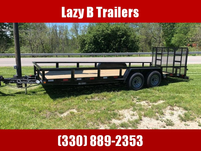 2021 Quality Trailers 20' PRO SERIES LANDSCAPE Utility Trailer