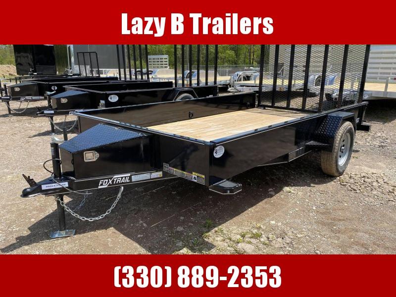 2021 Fox Trail 12' HD Utility Trailer
