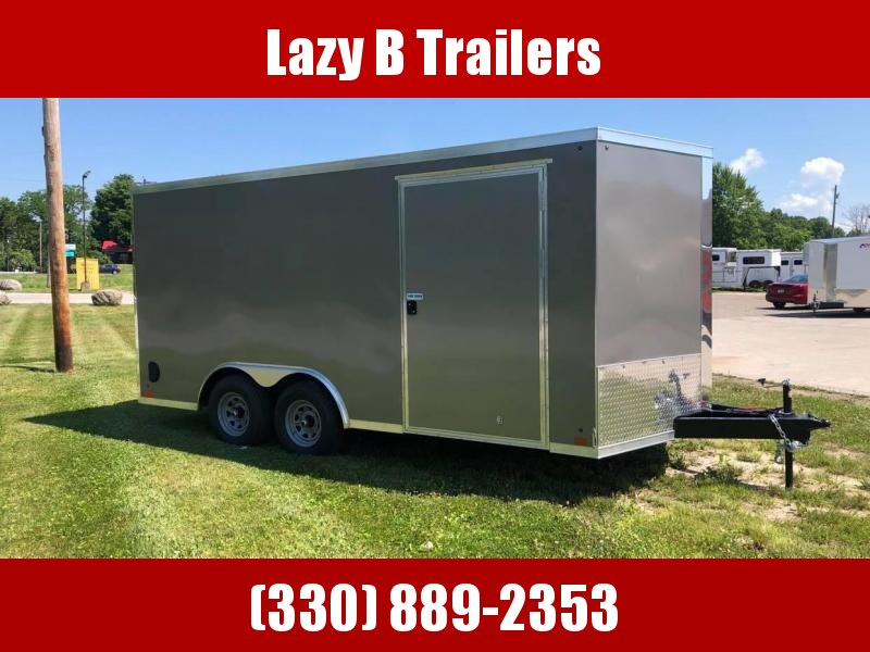 2021 Cross Trailers 8.5 x 16 w/ Ramp Enclosed Cargo Trailer