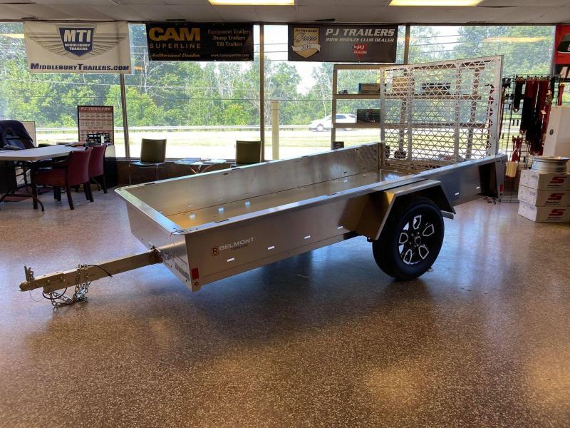 2021 Belmont 10' Aluminum Utility Trailer (TILTING)