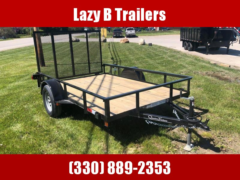2021 Quality Trailers 10' SINGLE AXLE Utility Trailer
