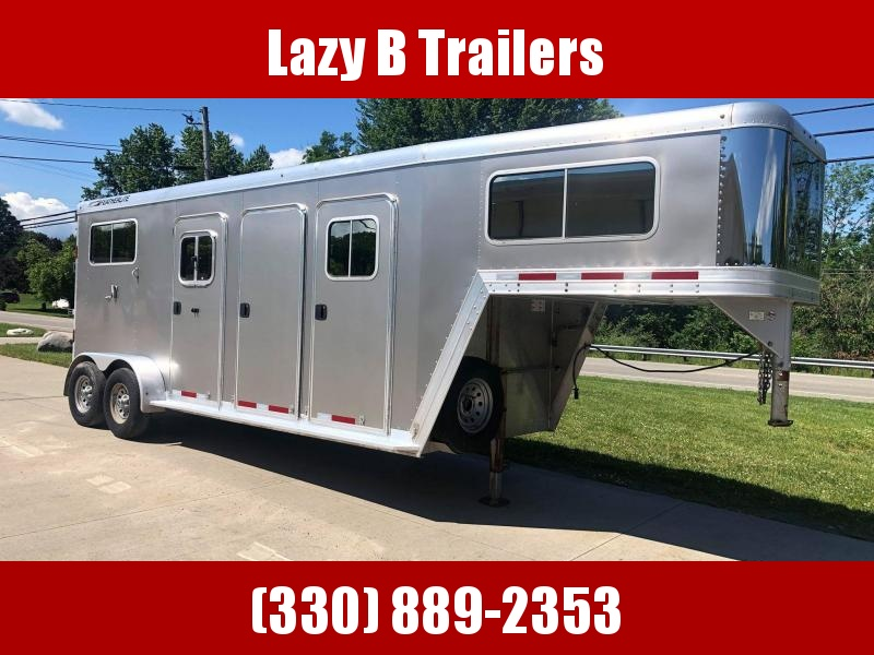 2011 Featherlite 2 Horse Straight Load Horse Trailer