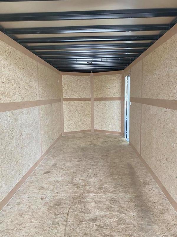 2021 Cross Trailers 7X16 w/ Ramp Enclosed Cargo Trailer
