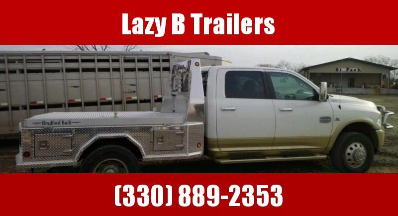 Bradford Built Aluminum 4-Box Utility Truck Bed
