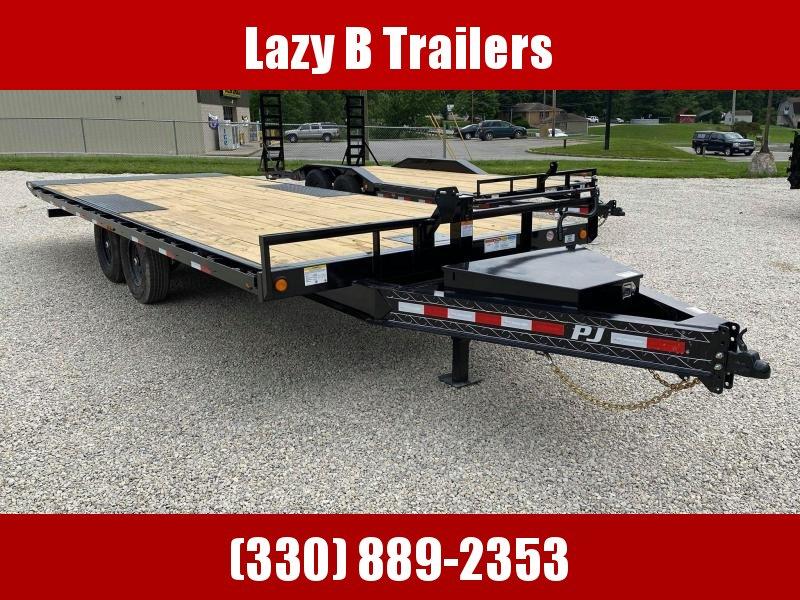 2022 PJ Trailers 22' Deckover Tilt Equipment Trailer