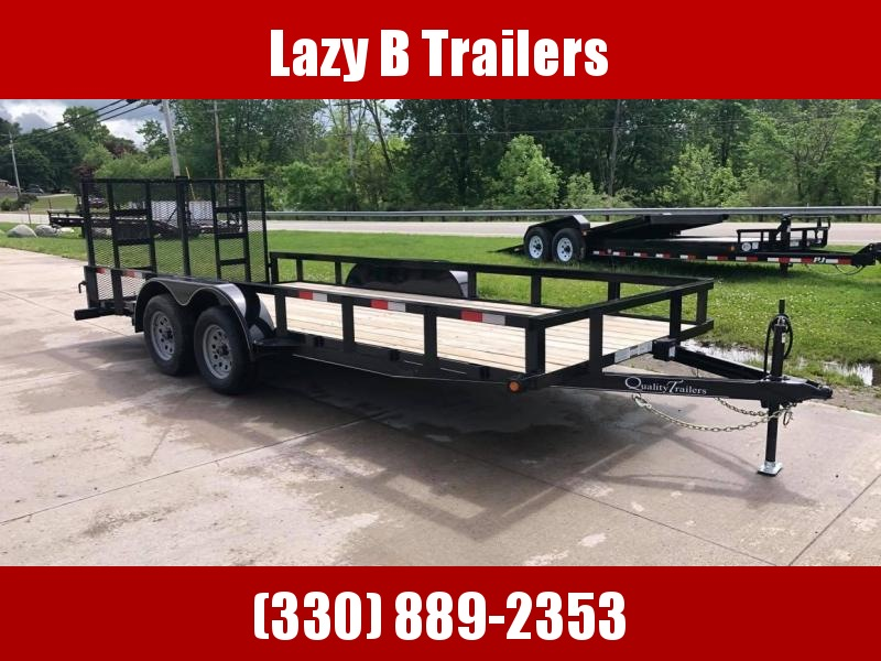 2021 Quality Trailers 18' LANDSCAPE Utility Trailer