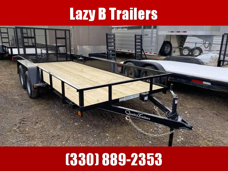 2021 Quality Trailers 18' Economy Series Utility Trailer