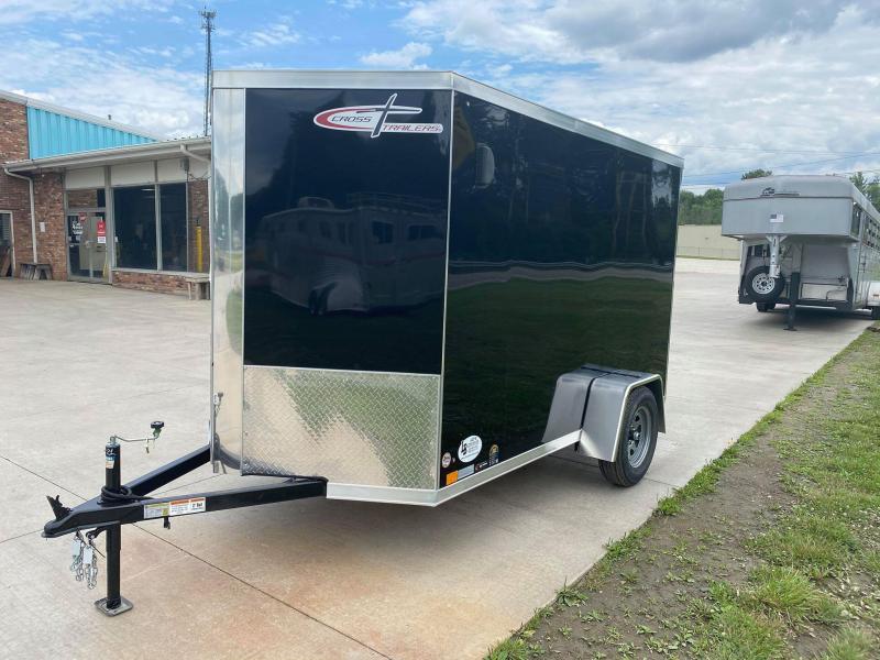 2021 Cross Trailers 6x10 w/ Ramp Enclosed Cargo Trailer
