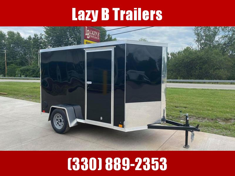 2021 Cross Trailers 6x10 w/ Ramp Enclosed Cargo Trailer