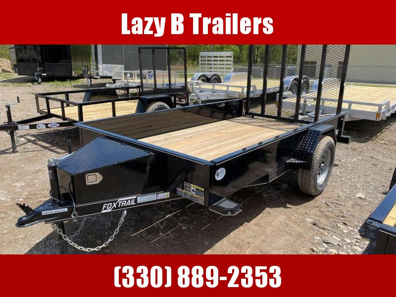 2021 Fox Trail 10' Utility Trailer