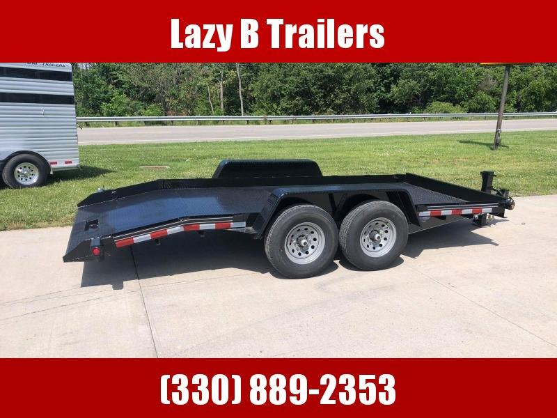 2021 Quality Trailers 16' Skid Steer Tilt Equipment Trailer