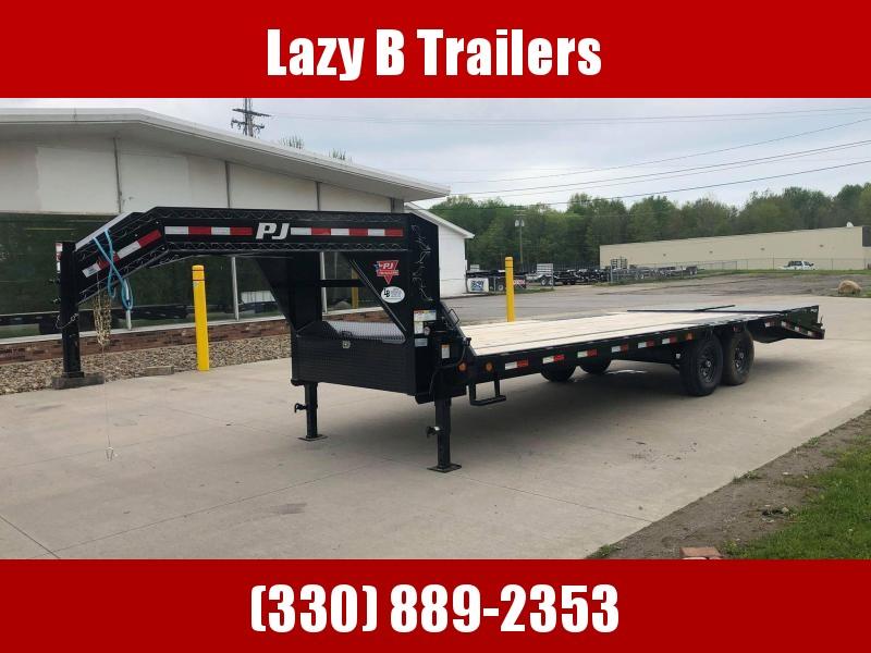 2022 PJ Trailers 25' Gooseneck Equipment Trailer