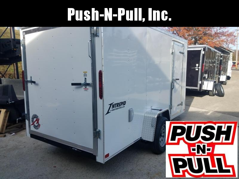 2020 Homesteader 6'X12' V Nose Trailer Enclosed Cargo Trailer