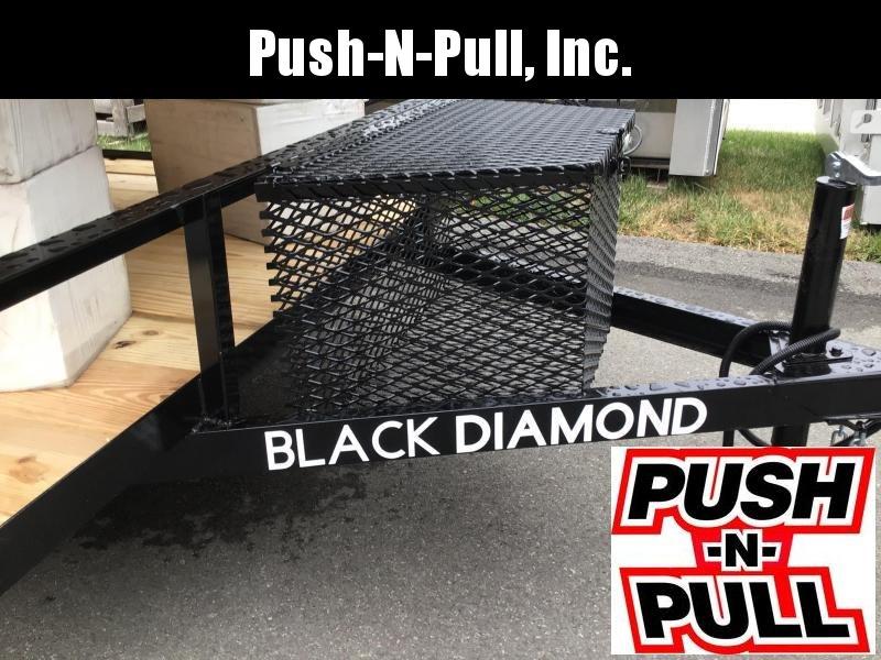 2020 BLACK DIAMOND 6'X12' STEEL UTILITY TRAILER