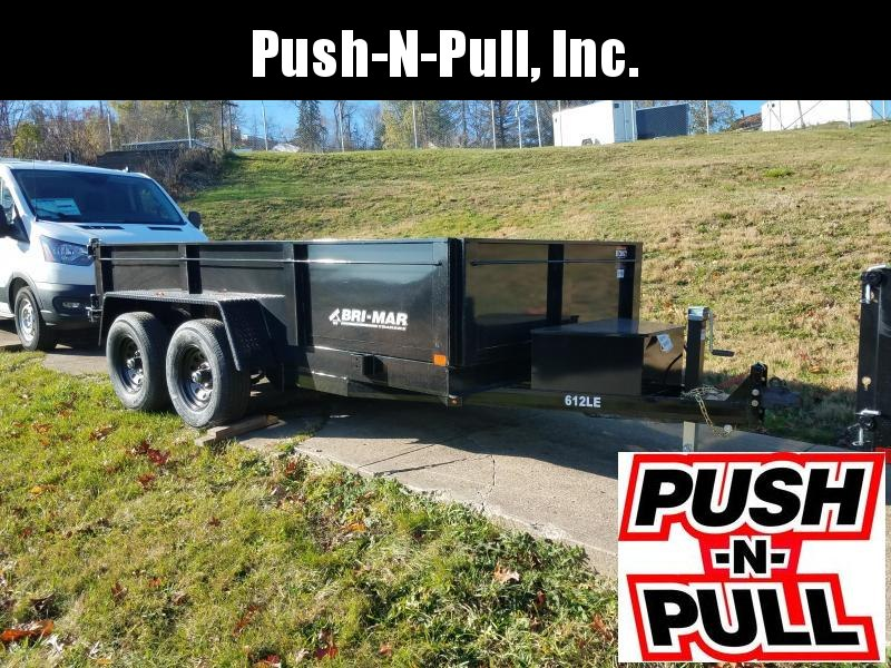 2020 BRI-MAR 6'X12' LP DUMP TRAILER