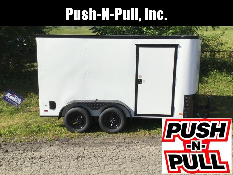 2020 Covered Wagon Trailer 6X12 V Nose Trailer Enclosed Cargo Trailer