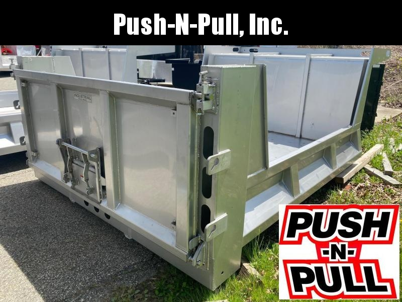 2020 Industrial Metal 9 Stainless Steel Dump Bed Municipal Spec Truck Bed