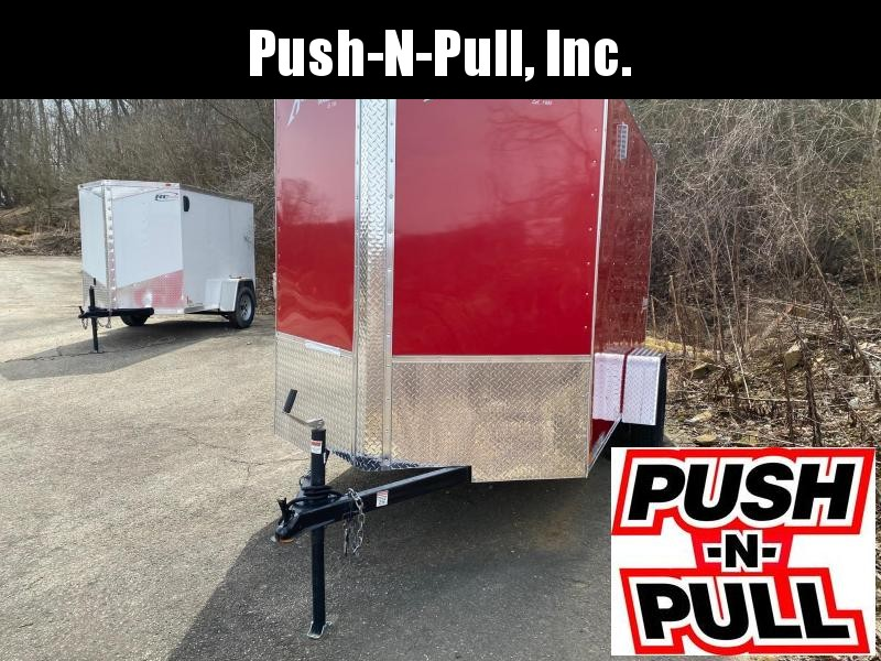 2019 Homesteader 6'X10' V Nose Trailer Enclosed Cargo Trailer