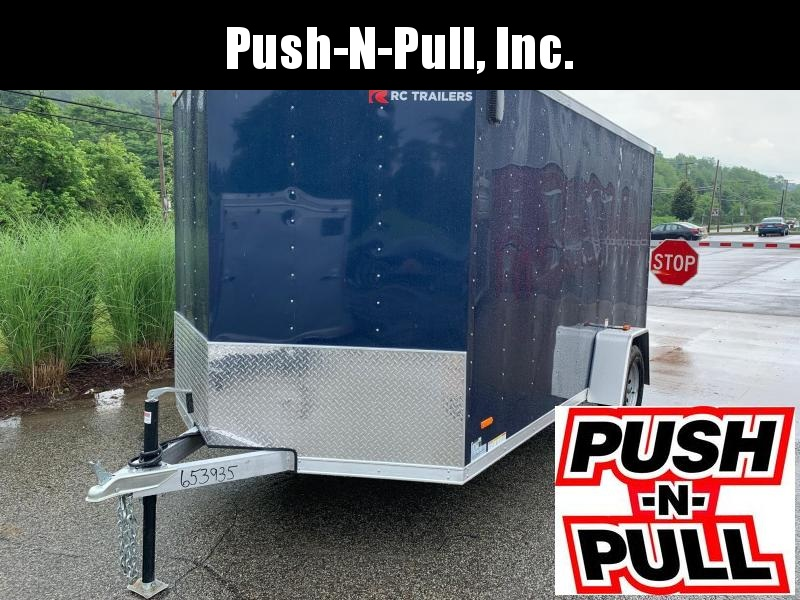 2019 RC ALUMINUM Trailer 7X12 V Nose Trailer Enclosed Cargo Trailer