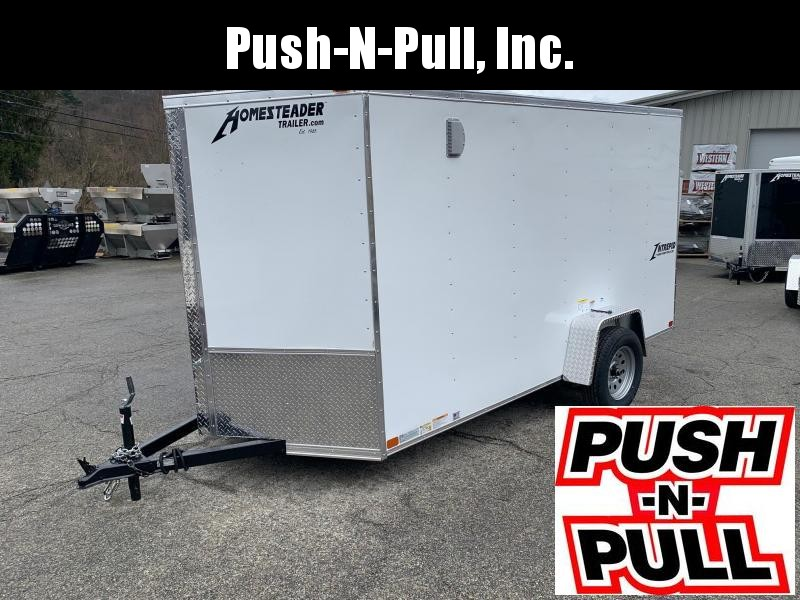 2020 Homesteader 6'X12' V Nose Trailer Enclosed Cargo Trailer