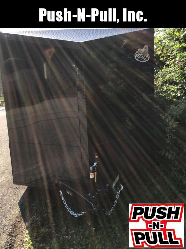 2020 Covered Wagon Trailer 8.5X20 V Nose Trailer Enclosed Cargo Trailer