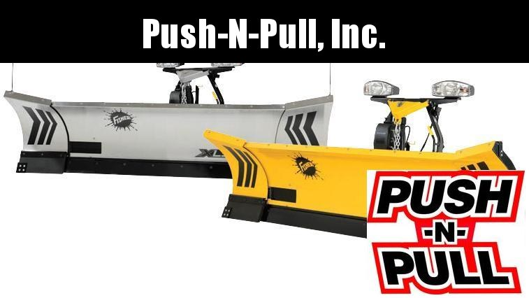 2020 Fisher XLS SS 8ft-10ft Snow Plow