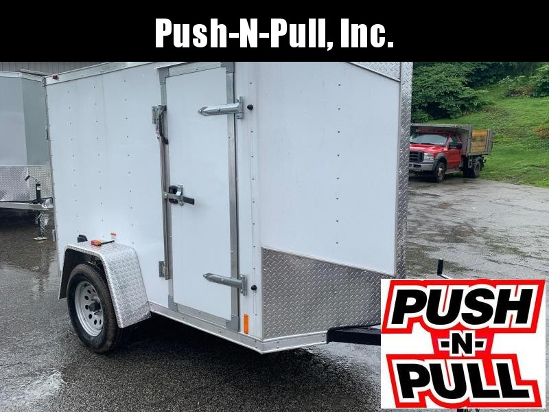2019 RC Trailer 5X8 V Nose Trailer Enclosed Cargo Trailer